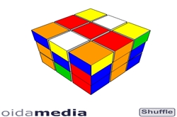 Rubik cube game